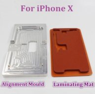 For iPhone X New LCD Screen Laminating and Positioning Alignment Mat Vacuum Metal Mold Mould For Iphone X