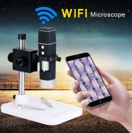 300X WIFI Microscope IOS/Android Wireless Biological Microscope Loupes