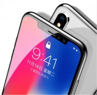 Baseus Soft PET 0.3mm Protector Tempered Glass For iPhone X /XR/XS Max Soft Edge 3D Full Cover Protection Toughened Glass Film