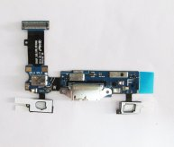 OR Charging Port with Flex Cable ,Home Button Connector, Mic and Sensor Key Flex Cable for Samsung Galaxy S5 G900A(New)