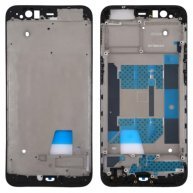 For OPPO R11 Front Housing LCD Frame Bezel Plate(Black)