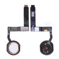 Home Button with Flex Cable Ribbon and Home Button Connector for iPad Pro(9.7inches) - Gold