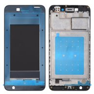 For Huawei Honor V9 Play Front Housing LCD Frame Bezel Plate(Black)