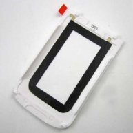 For BlackBerry Bold Touch 9930 Back Cover Replacement-White