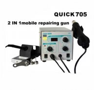 Quick 705 Smd Rework Station For Laptop Motherboard Repair soldering station Demolition IC hot air gun Welding Station