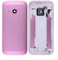 Back Cover Housing with Camera Lens and Volume Button for HTC One Mini 2(for htc) - Pink