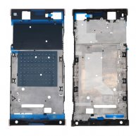 For Sony Xperia XA1 Ultra Front Housing LCD Frame Bezel Plate(Rose Gold)