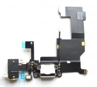 For iphone 5 Dock Charging Connector Flex Cable -White(High Quality)