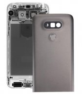 For LG G5 Metal Back Cover with Back Camera Lens & Fingerprint Button