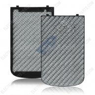 Carbon Fibre Battery Cover Door for BlackBerry Bold 9900 - Grey