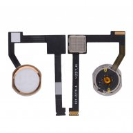 Home Button Connector with Flex Cable Ribbon for iPad Pro(12.9 inches)-Gold