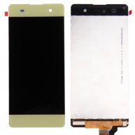 For Sony Xperia XA LCD Screen + Touch Screen Digitizer Assembly (Lime Gold)