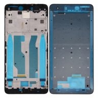 For Xiaomi Redmi Note 4X Front Housing LCD Frame Bezel(Black)
