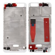 For Huawei P10 Front Housing LCD Frame Bezel Plate(White)