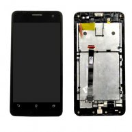 LCD Screen + Touch Screen Digitizer Assembly with Frame for Asus Zenfone 5(Black)