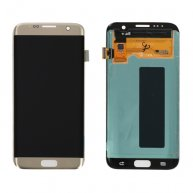 For Samsung Galaxy S7 Edge / G935 Original LCD Display + Touch Screen Digitizer Assembly(Gold)