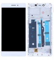 TFT LCD Screen and Digitizer Assembly with Frame for OPPO R7s- White