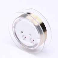 Gold Molybdenum Wire 0.08mm 1000M LCD Glass Separation Cutting Line