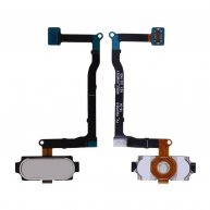 Home Button with Flex Cable for Samsung Galaxy Note V N920/ N920F/ N920A/ N920V/ N920P/ N920T - White Pearl