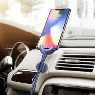 Baseus Multi-function 0.8m O-type Car Mount / Data Cable / Cable Clip, For iPhone X / iPhone 8 & 8 Plus / iPhone 7 & 7 Plus / iP