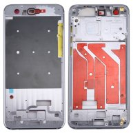For Huawei Honor 9 Front Housing LCD Frame Bezel Plate(Grey)