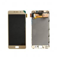 For Lenovo Vibe P2 / P2a42 / P2c72 LCD Display + Touch Screen Digitizer Assembly with Frame (Gold)