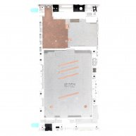 For Sony Xperia L1 Middle Frame Front Housing - White