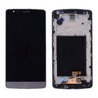 LCD with Touch Screen Digitizer and Front Cover for LG G3 mini D722 D722V D724/ Beat D722K D728/ Vigor D725(for LG) - Gray