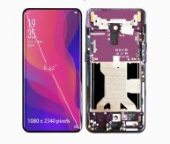 LCD Display Touch Screen Digitizer Assembly With Frame Bezel For Oppo FIND X