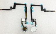 High Quality Back Flex Cable with Home Button Connector for iPad mini 3-Black