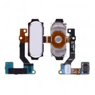 Home Button with Flex Cable for Samsung Galaxy A8 A8000/ A800F/ A800X/ A800S/ A800YZ/ A800 - White