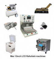 Full Set LCD Refurbish machines for Max 13inch Professional 4 in 1