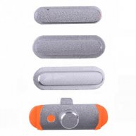 High Quality Side Button for iPad mini 3(4 Pcs/Set)-Silver