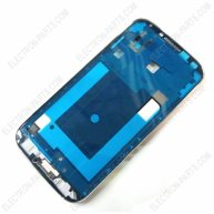 Front Housing Bezel For samsung I9505 Galaxy S4(OR)-Silver