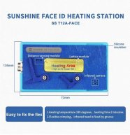 SS-T12A Heating Station With T12A-FACE ID Heating Groove For iPhone X XS MAX Face ID cable distance sensor Desoldering Repair