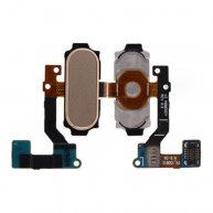 Home Button with Flex Cable for Samsung Galaxy A8 A8000/ A800F/ A800X/ A800S/ A800YZ/ A800 - Gold