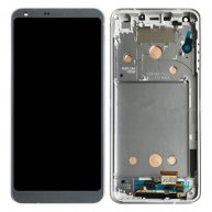 For LG G6 / H870 / H870DS / H872 / LS993 / VS998 / US997 LCD Screen + Touch Screen Digitizer Assembly With Frame (Platinum)
