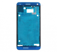 Front Cover with Middle Frame for HTC One M7-Blue