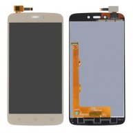For Motorola Moto C Plus LCD Screen + Touch Screen(Gold)