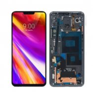 LCD Screen and Digitizer Full Assembly with Frame for LG G7 ThinQ / G710 G710EM G710PM G710VMP