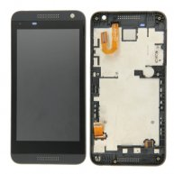 LCD Screen + Touch Screen Digitizer Assembly with Frame for HTC Desire 610(Black)
