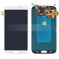 LCD Assembly with Touch Screen Digitizer Repair Part for Samsung Galaxy Note II 2 N7105 LTE - White