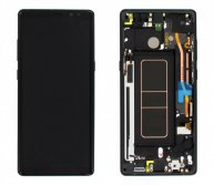 LCD Screen with Touch Screen Assembly Replacement With Frame for Samsung Galaxy Note 8 N950F Black Ori