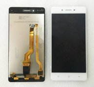 For OPPO F1 LCD Screen + Touch Screen Digitizer Assembly(White)