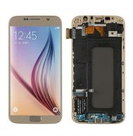For Samsung Galaxy S6/G920F Ori LCD Screen and Digitizer Full Assembly with Frame