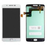 For Motorola G5 LCD Screen and Digitizer Full Assembly(White)