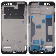 For OPPO R11 Plus Front Housing LCD Frame Bezel Plate(Black)