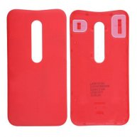 Back Cover Battery Door for Motorola Moto G3 - Red