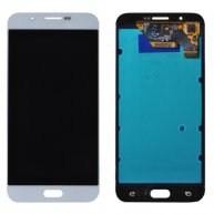 For Samsung Galaxy A8 / A8000 LCD Display + Touch Screen Digitizer Assembly(White)
