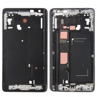 Front Housing LCD Frame Bezel Plate for Samsung Galaxy Note Edge / N915(Black)